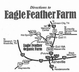Directions to the Farm – NC Ginseng & Goldenseal Company