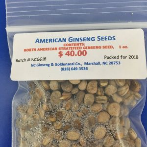 Seeds & Rhizomes for Replanting – NC Ginseng & Goldenseal Company
